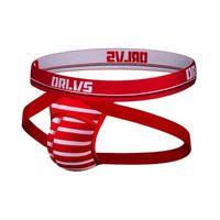 ORLVS Underwear Underwear Sexy Srund Men Slips Jockstrap Pouch Cuecas Man Mutandine di cotone Mutandine perizoma Mothong Mothats GAY Slip Homme