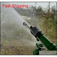 Ирригация спринклерной пистолетной водной системы 360 градусов Регулируемый дождь распылительный пистолет полей спринклеров для AGRI QYLZIV ALICE_BAG