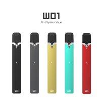Original Ovns W01 Kit E Zigarette Pod Kit Stater Kits 280mah Vape Stift mit 0,7 ml Bio-Baumwollspulen-Pod-Patrone Vape-Stift