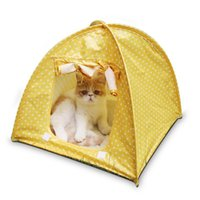 Foldable Dogs Cats Tent Pet Cat House Dog Cat Bed All Season...