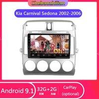 Android Player 9.1 Per Kia Carnival Sedona 2002-2006 Auto GPS Navigation Stereo Radio Head Unità WiFi Supporto Bluetooth SWC1