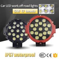 Fari dell'automobile Kongyide Auto Light 6000K Lavoro LED 51W Off-Road Modificato Ritratto del tetto Spotlight Accessori per auto1