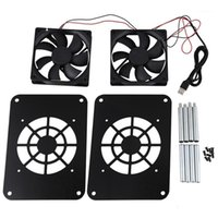 Wireless Router Cooling Fan USB Power Silent Radiator TV Box...