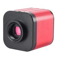 캠코더 4K UHD CMOS 디지털 현미경 카메라 1080P 풀 HD 120FPS 전화 복구 솔더링을위한 산업용 C 마운트 비디오