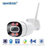 كاميرات 5.0MP 1080P كاميرا IP لاسلكية في اتجاهين الصوت في الهواء الطلق للماء اللون ليلة P2P Onvif الأمن CCTV WIFI 2MP المعادن