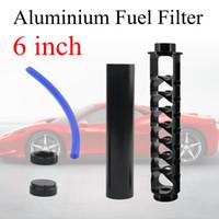 Yeni 6 inç Araba Yakıt Filtresi Solvent Tuzağı 1/2-28 Napa 4003 Wix 24003 Için Alüminyum Yakıt Filtresi 1/2x28 Filtro Napa 1/2 28 5/8-24