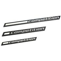 1x Kompetisi Bar Menggarisbawahi Lambang Untuk BMW Thunder Edition M1 M2 M3 M4 M5 M6 M7 M8 X3M X4M X5M X6M Bagasi Mobil Stiker