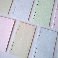 Notepads Skysonic 40 ورقة A5 A6 ورقة فضفاضة ورقة دفتر الملء عبارة