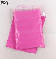 10 шт. Розовый клей Курьерская Упаковка Упаковка Polipe Express Конверт Почтовый Сумка Пластиковый хранилище Post Bags1