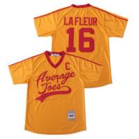 영화 축구 피트 LaFleur 뉴저지 16 빈스 본 평균 조의 피구 남자 팀 색상 황색 통기성 모든 스티치 양질