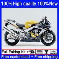 Corpo para a Honda CBR 929RR 900 929 RR 900RR 900cc 929CC 00 azul amarelo 01 50HM.51 CBR900RR CBR929 RR CBR900 RR CC CBR929RR 2000 2001 Fairing