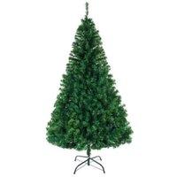 8 피트 크리스마스 트리 1138 가지와 인공 암호화 된 PVC 크리스마스 큰 나무 크리스마스 장식 홈 파티 장식품 201127