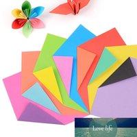 Bröllopsfesttillbehör Papperskuren Material 15 * 15cm Kids Handgjorda Fällande Origami Paper DIY Scrapbooking Craft Square 24PCs