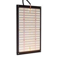 120W Samsung LED växer ljus 2x2ft täckning Full spektrum växande ljus för inomhus växter Växt och blommar växthuset lampor frö som börjar med IR-lampor