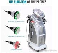 Los más vendidos 80k RF adelgazante Ultrasonic Lipo Cavitación de vacío de vacío Pérdida de peso Máquina de belleza del cuerpo Envío gratuito