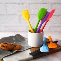 Küche Silikon Creme Butterkuchen Spachtel mischen Teig Abkratzbürste Butter Mixer Kuchen Bürsten Backen Werkzeug YYA59-2 SEEverschiffen