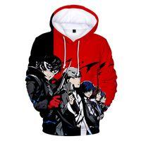 Persona 5 Hoodie Kazak Streetwear Anime Erkek Kadın Kid Persona5