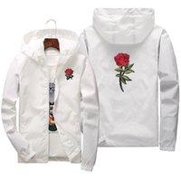 Chaqueta de rosa de verano de primavera para hombres y mujeres. Tamaño de los Estados Unidos XS-XXXL 201128