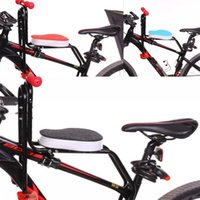 Bicycle Mountain Bike Child Seat Front Car Truck Racks Cycling Security Chair Soft Cushion Baby Seats Antiskid Armrest Trample 32yj O2