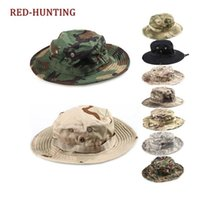 Army Tactical Bonnie Hat Hunting Hat Round- Brimmed Sun Bonne...