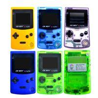 """GB 보이 컬러 컬러 휴대용 게임 콘솔 2.7 """"32 비트 핸드 헬드 게임 콘솔을 백라이트 (66) 게임 내장 지원 표준 카드"""