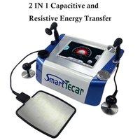 Thérapie Tecar Smart Tecar Diathermy Radio-Fréquence Monopolaire CET RF Machine de physiothérapie pour les blessures sportives Soulagement de la douleur