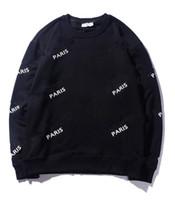 Международные самые продаваемые круглые шеи писем свитер чистый хлопок модные благородные пальто толстовка толстовка рубашка спортивная одежда куртка
