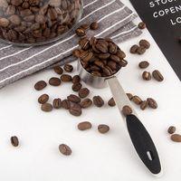 30 ml Metal Medición Cucharada Multifunción Coffee Scoop Café de acero inoxidable Mango largo Polvo Leche Cuchara PPD3878