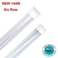 V Shaped Integrated LED Tubes 4ft 5ft 6ft 8ft T8 72W 100W Double Sides Bulbs Shop Lights Cooler Door Light