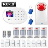 Kerui W20 WiFi wireless GSM Sistema di allarme per laurea per la sicurezza domestica con allarme 80DB Siren Disarm1
