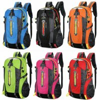 40L Large Waterproof Backpack Hiking Cycling Climbing Bags Travel Outdoor Bags Men Women Anti Theft Sports Bag Camping&