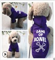 Otoño e invierno nuevo vellón cálido perro suéter con capucha pequeño perro peluche gato corgi bichon ropa mascota