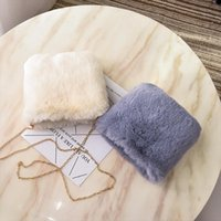 Faux Fur Crossbody Bags for Women Autumn Winter Plush Purses...