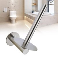 سهل التركيب مجانا لكمة مطبخ الأجهزة لاصق ورقة منشفة حامل الصدأ فندق جدار الخيالة الفولاذ المقاوم للصدأ المرحاض المنزل