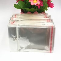 200pcs Şeffaf Plastik torbalar OPP çok boyutlu seçim ekranı takı kartları, küpe ve gerdanlık kolye Takı ambalaj