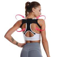 Женщины Body Health Care Спорт Защитные полосы Корректор осанки ортопедический корсет Регулируемый плечевой ремень ремень поддержки осанки