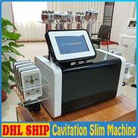 Nova Chegada 6in1 Cavitação RF Laser Emagrecimento Máquina Luz Vermelha RF Vácuo Lipolaser Corpo Slim Skin Face Rosto Elevador Elevador Equipamento