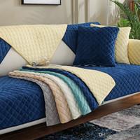 لينة مريحة غطاء زلة غطاء الصلبة اللون أريكة غطاء الأريكة غطاء الشتاء رشاقته غير زلة أريكة الغلاف الحديثة تزيين المنزل YL0183
