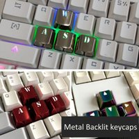 Metal Backlit Keycaps For Cherry Mx Switch Mechanical Gaming...