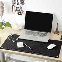 Polsini per il mouse Polso Poggiasetti Solid Felt Computer Laptop Desk Takeboard Tastiera Cuscino Penna Penna Documento Organizer Home School Office Accessories1