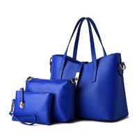 HBP 3 قطعة / المجموعة المحافظ حقائب اليد جودة عالية الأزياء حقيبة كيس مركب حقيبة حمل أكياس