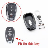 Smart Key Shell Case Holder Fob Protector Cover Fit dla Chevrolet Cruze Volt Malibu Sonic Equinox Camaro Trax 2/3/4 Przyciski Akcesoria