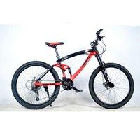 الامتصاص الكامل bicicletas الدراجة الجبلية 29 الطريق دراجة 26 بوصة قرص مزدوج الفرامل عالية صلابة الإطار sepeda gunung