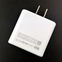PD 45W для примечания 10 Быстрая зарядка EU Plug US быстрый настенный зарядное устройство адаптер оптом