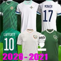 2020 2021 Irlanda del Nord Soccer Jerseys Evans Lewis Saville Davis Whyte Lafferty McNair 20 21 Irlanda Casa Away McClean Camicie da calcio McClean