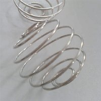 Prezzo di fabbrica cibo speciale shake tazza 304 in acciaio inox grado albume in polvere agutore round bobina filo palla a molla