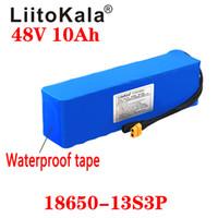 LiitoKala 48V 10AH 13s3p высокой мощности 18650 Электромобиль Электрический мотоцикл DIY батареи BMS защиты XT60 подключи