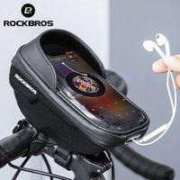 Rockbros Bicycle Bag Touch Screen front Top Frame Borse Bike Road Bike MTB Cycling Manubrio Panniers Accessori