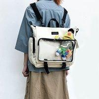 이타 가방 지우기 주머니 여성 대용량 여자 투명 어깨 Itabag 디스플레이 스트리트 배낭 H203 Q1113