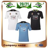 20/21 Spezia Calcio Soccer Tracksys 2021 Agudelo Pobega Agoume Chabot D. Farias Футбольная рубашка с коротким рукавом